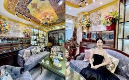 """Ngôi nhà kết hợp style Á Âu của cặp vợ chồng trẻ: Phòng khách kê toàn tủ đá quý """"chắn"""" lối đi, phòng ngủ sơn xanh lam khó-rời-mắt"""