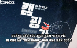 Quảng cáo xúc xích hứng 'gạch đá' vì bị coi là chê bai đàn ông Hàn Quốc