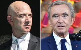 Chuyện lạ: Ông chủ hãng thời trang Louis Vuitton trở thành người giàu nhất thế giới lần thứ 3 trong...1 tuần