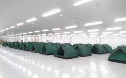 Chỗ ăn, ở chưa có tiền lệ của công nhân trong khu công nghiệp Bắc Ninh