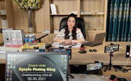 """Thừa nhận """"ngủ ít, ốm đi"""", bà Nguyễn Phương Hằng đáp trả lý do vì sao thường xuyên livestream và nhắc tới tên các nghệ sĩ"""