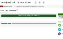 Phạt mạng xã hội VNBrands.vn 105 triệu đồng, tước giấy phép 8 tháng