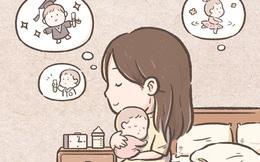 Bộ tranh: Cả cuộc đời, chỉ có mẹ là người duy nhất mãi mãi phải chờ đợi bạn