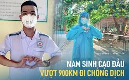 Nam sinh 2k2 cạo đầu từ Quảng Nam ra Bắc Giang tham gia chống dịch: Mỗi lần gọi về nhà chẳng dám nói chuyện quá 1 phút vì sợ mẹ khóc
