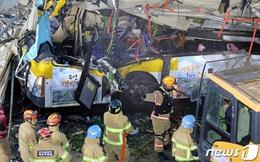"""Cú điện thoại cuối cùng của nạn nhân nhỏ tuổi nhất trong vụ tòa nhà 5 tầng đổ sập đè nát xe buýt: """"Con yêu bố, chốc nữa gặp bố ở nhà nhé"""""""