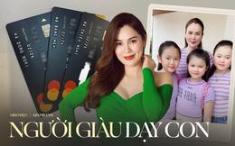"""Hoa hậu """"khẩu chiến"""" Phi Nhung kể chuyện dạy con: 3 bé học trường tiền tỷ nhưng vẫn mặc áo 40k, nghe định hướng mới đẳng cấp"""