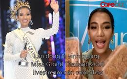 Ai rồi cũng bán hàng online thôi: Miss Grand Thailand 2020 livestream bán cơm cháy, son môi giữa mùa dịch
