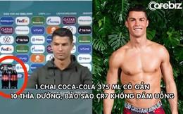 Siêu sao Cristiano Ronaldo: Không uống nước ngọt vì 6 múi và tỷ lệ mỡ hoàn hảo, không xăm mình để tiện hiến máu hơn
