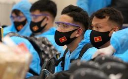 Về nước, tuyển Việt Nam được rút ngắn thời gian cách ly tập trung