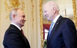 """TT Putin mở đầu cuộc trò chuyện với TT Biden bằng tiếng cười sảng khoái, hy vọng cuộc gặp """"hiệu quả"""""""