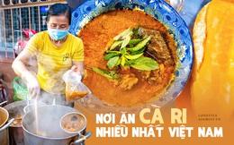 Nếu Ấn Độ ăn cà ri nhiều nhất thế giới thì ở miền Tây có một nơi mà người dân ăn cà ri nhiều nhất Việt Nam, y như cách người Sài Gòn chọn cơm tấm để ăn sáng!