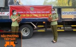Tổng cục QLTT cam kết hỗ trợ tiêu thụ 3.000 tấn vải thiều Bắc Giang: Vận chuyển đến 63 tỉnh thành, bán cả online và offline