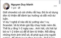 """Duy Mạnh bóc trần chiêu trò từ thiện của showbiz Việt, """"đổi trắng thay đen"""" chỉ trong 1-2 ngày?"""