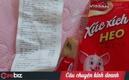 Lên mạng bức xúc vì mua phải xúc xích ăn liền Vissan tại siêu thị bị đen đầu: Lỗi tại siêu thị hay do nhà cung cấp?