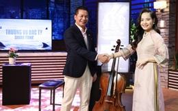 Cô gái Huế xinh đẹp vừa chốt deal kỳ lạ với Shark Hưng: Là Tiến sĩ Cello đầu tiên của VN, 10 tuổi đi nhờ xe chở gà ra Hà Nội học đàn, sổ nợ chi chít 3 cuốn