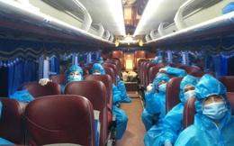 TP.HCM: Huy động 200 xe khách vận chuyển người bệnh Covid-19 có triệu chứng nhẹ
