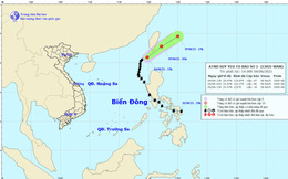 Bão số 1 suy yếu thành áp thấp nhiệt đới, cảnh báo bão mạnh trong năm nay