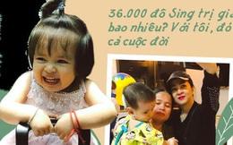 Mẹ của bé được bà Phương Hằng bay sang Singapore cứu trợ tiền mổ não: Cứ nhìn đôi mắt, miệng cười của con, em lại hồi tưởng đến đêm định mệnh ấy