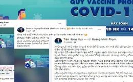 Các doanh nhân đồng loạt chia sẻ về sự kiện ra mắt Quỹ Vaccine COVID-19: Cả nước chung tay, nhất định thắng dịch!