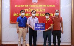 Lazada đã tặng sữa tươi và nước điện giải trị giá 1 tỷ đồng tiếp sức cho bác sĩ và lực lượng tuyến đầu Bắc Giang và Bắc Ninh