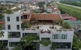 """Nguyên một căn nhà cổ trăm tuổi trên tầng mái tạo nên ngôi nhà """"tân cổ giao duyên"""" độc nhất vô nhị ở Việt Nam"""