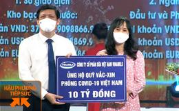 Vinamilk ủng hộ quỹ Vaccine phòng Covid-19, tích cực trong cuộc chiến chống dịch