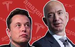 Mối thâm thù suốt 15 năm giữa Jeff 591097 Bezos và Elon Musk: 'Cà khịa' nhau 'Không thể dựng lên được', tag hẳn tên đối thủ yêu cầu giải tán công ty