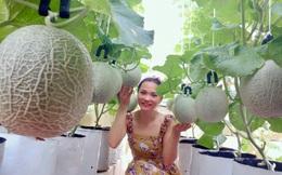 Ghé thăm sân thượng thu hoạch cả tạ dưa đủ loại của người phụ nữ đảm đang ở quận 6, Sài Gòn
