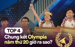 4 thí sinh chung kết Olympia 1 năm trước: Người đậu ĐH sớm, người được shark Liên nhòm ngó, riêng Quán quân đi làm TikToker