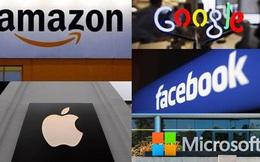 7 hãng công nghệ lớn nhất của Mỹ có tổng vốn hoá gần 10 nghìn tỷ USD