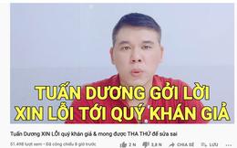 """Youtuber từ chối phát cơm cho """"bụi đời, người mập, sơn móng chân"""" đăng clip xin lỗi, CĐM bất ngờ yêu cầu công khai sao kê từ thiện"""