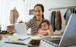 Bà nội trợ 2 con đi từ ê chề tới thành công với việc kiếm tiền trực tuyến và lời khuyên cho các bà mẹ ở nhà trông con