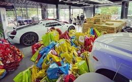 Chuyện hiếm thấy tại Việt Nam: Đại gia 9x lái siêu xe Mẹc đi ship gạo, nước mắm