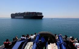 Kênh đào Suez ghi nhận mức doanh thu kỷ lục dù tàu Ever Given chỉ vừa trở lại hành trình sau 112 ngày mắc cạn