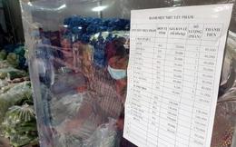 Nhiều siêu thị quá tải, một phường ở Tp. HCM kết nối tiểu thương bán hàng bình ổn giá: Thịt cá rau đầy đủ, đảm bảo giãn cách, được dân khen vừa rẻ vừa tươi ngon