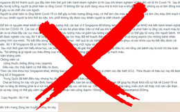 Bộ Y tế bác bỏ thông tin sai sự thật về COVID-19