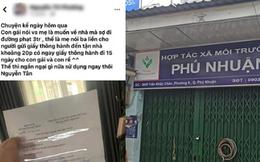 """TP.HCM: Bố là giám đốc HTX môi trường, con gái lên mạng khoe được cấp """"giấy thông hành"""" để đi lại tự do"""