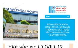 """""""Tuýt còi"""" bệnh viện tư thông báo tiêm vắc xin COVID-19 giá 1,5 triệu đồng"""