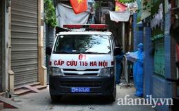 Hà Nội: Tạm phong tỏa nơi ở, đưa 2 mẹ con bé gái 1 tuổi dương tính SARS-CoV-2 đi cách ly