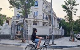 Cận cảnh biệt thự nhà giàu 'cơi nới' phá vỡ quy hoạch trong khu đô thị ở Hà Nội