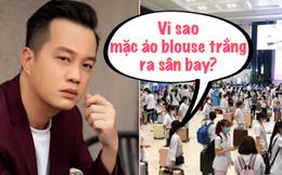 ĐD Gái Già Lắm Chiêu phát ngôn gây sốc: Đoàn y tế tiếp viện cho TP. HCM mặc blouse trắng tới sân bay là không hiểu quy tắc