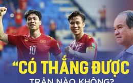 """Muốn thắng Trung Quốc, thầy Park phải thôi """"rùng mình"""" với câu hỏi mỉa mai của bầu Đức"""