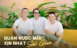 """3 chàng trai mở tiệm nước mía lạ nhất Sài Gòn, ai đi qua cũng trầm trồ """"đẹp như khu vui chơi""""!"""