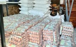 Trứng gà bình ổn mua vào 31.000 đồng/chục, bán ra 29.000 đồng/chục, doanh nghiệp gồng lỗ