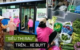 Người Sài Gòn lên xe buýt để... mua rau củ, thịt cá giá bình ổn, vẫn đảm bảo an toàn nhưng quan trọng là cái gì cũng tươi ngon!