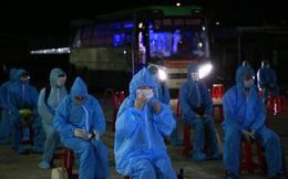 Lao động nghèo, sinh viên Quảng Nam từ TP.HCM về đến quê, được xét nghiệm ngay trong đêm
