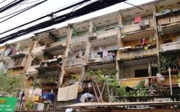 Mua chung cư cũ giá cao để chờ ngày cải tạo