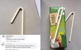 Sữa hộp dùng ống hút giấy, người tiêu dùng chia 2 phe ủng hộ và phàn nàn: Rốt cuộc là điểm cộng hay điểm trừ?