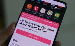 Lập hội quỵt tiền ứng dụng cho vay trên mạng xã hội