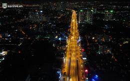 """Ảnh: Đêm Hà Nội """"vắng hơn Tết"""", đường phố không một bóng người trong những ngày giãn cách xã hội"""